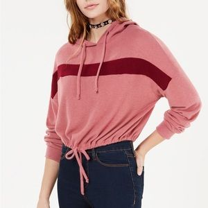 Polly & Esther Juniors chewy stripe hoodie